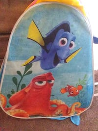 blue and red Finding Nemo print textile Mansfield