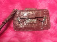Guess Pink wristlet/clutch/wallet- cute! Norton, 44203