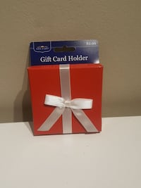Lot of 144 red card holder box
