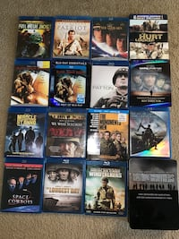 Lot of 67 Blu Rays & DVD, Entourage, Band of Brothers, 3D Blu Towson, 21286