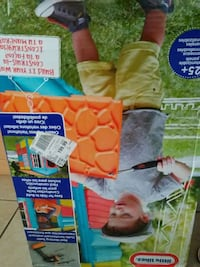 baby's green and blue bouncer box Ocala, 34475