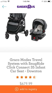 Graco stroller and car seat  Richmond, V6X 1A6