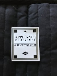 appliance cover 4 slice toaster box