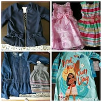 Girls clothing size 4 and some size 3 Edmonton, T5R 3J1