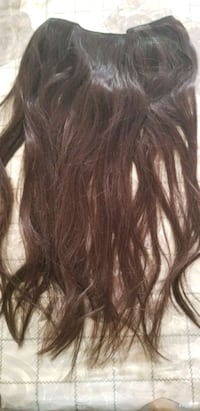 Dark Brown Halo Real Hair Extensions Human Hair 80G 18inch Invisible