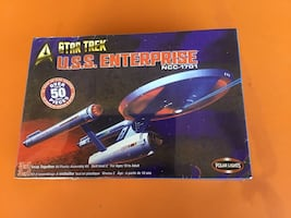 Star Trek Enterprise NCC-1701 Model Kit