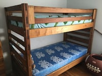 Solid wood bunk bed 37 km