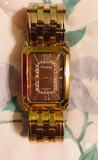 Men's armytron gold plated watch Toronto, M9C 1G3