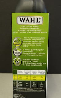 Wahl Cordless Hair-cutting Kit - BRAND NEW Mississauga