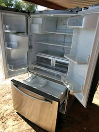 white side by side refrigerator Phoenix, 85009