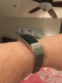 Fitbit Ulta with silver band and charger Woodbridge, 22192