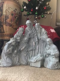 "nativity of Jesus Christ large made of cement 18"" tall 24"" long click on my profile picture on this page to check my other listings message me if you interested pick up in Gaithersburg Maryland 20877 all sales final Gaithersburg, 20877"