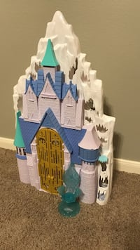 pink white and purple castle toy Cypress, 77433
