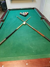 green and brown pool table Asheboro, 27205
