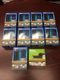 9 Roku Express+ & 1 Roku Streaming Stick - Brand New In Boxes, $250.00 For All 10! Hodgkins, 60525