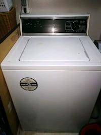 white top-load clothes washer Milton