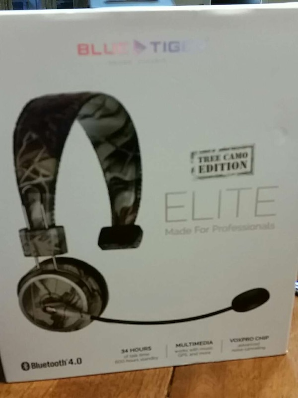 89dcc54d915 Used Blue Tiger Tree Camp Headset for sale in Baytown - letgo