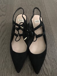 Zara cut out point low heels - NEW NEVER WORN  3754 km