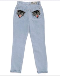 The Ragged Priest High Waisted Denim Toronto, M6A 2W4