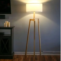 Mid Century Modern Lamp Silver Spring