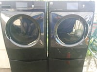 two black front load washing machines Fresno, 93706