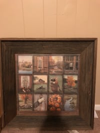 Old farmhouse picture in frame Birmingham, 35235