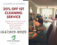 House cleaning Toronto, M9N 1X4