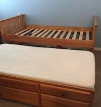 Twin Trundle Bed FREE DELIVERY  Lutz, 33548