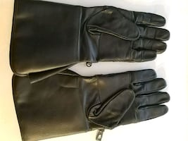 """""""LEATHER"""" MOTORCYCLE GLOVES"""