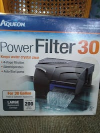 Aqueon 30 gallon power filter, New Annandale, 22003