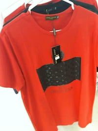 red and black crew neck t-shirt Longueuil, J4T 2G2