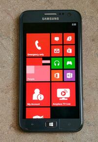 SAMSUNG ATIV S T899M-(Rogers) 16GB GSM Phone-Windows 8   Toronto, M5B