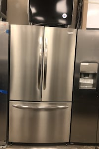 Frigidaire stainless steel French doors refrigerator