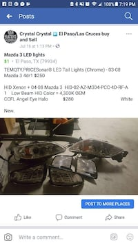 pair of automotive headlights sold as pair or indi El Paso, 79934