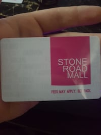 Stone Road Mall gift card