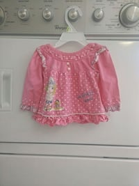 Pink dress for babies 0-3m 3739 km