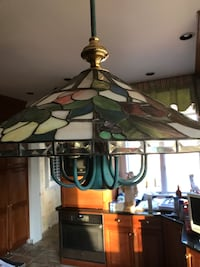 Stained glass pendant light- authentic Fallston, 21047
