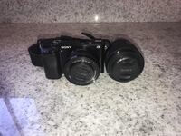 Sony A6000 with 2 lenses and accessories Newport