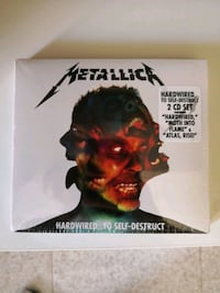 Metallica, Hardwire to the destruction, precintado 6432 km