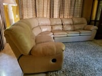Recliner sectional with pull out bed Mission Viejo, 92692
