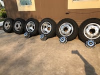 2015 Chevy 3500 dually rims OEMS