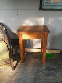 brown wooden table with chair Baltimore, 43105
