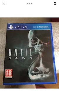 Until Dawn PS4 gioco in Inglese