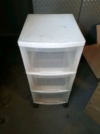 Sterile light 3 drawer cart