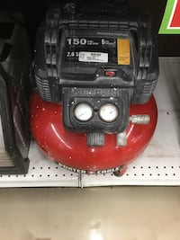 Red and black porter cable air compressor Bradenton, 34203