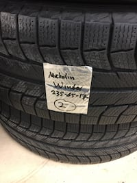 2 winter tires Michelin very good condition size 235/65/r17 Brampton, L6R 3M6