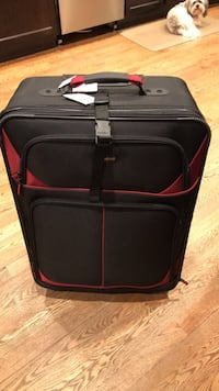 black and red luggage bag Livonia, 48154