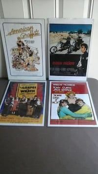 (4) Mini Movie Posters Griffith, 46319