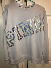 New with Tags Victoria's Secret PINK Blue Sweater Sweatshirt Shirt Top XS Fall River, 02720
