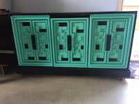 brown and green wooden cabinet Adamstown, 21710